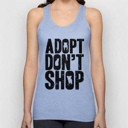 Adopt Don't Shop Unisex Tank Top