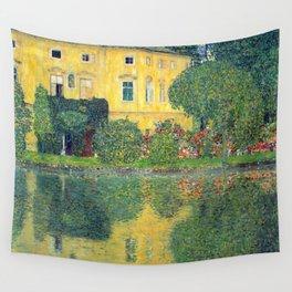 """Gustav Klimt """"Schloss Kammer on the Attersee IV"""" Wall Tapestry"""