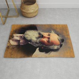 Johannes Brahms, Music Legend Rug