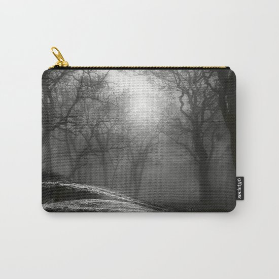 Black and White - From small beginnings and big endings Carry-All Pouch
