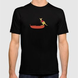 Kangaroo on Gondola T-shirt