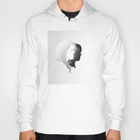 lydia martin Hoodies featuring Lydia and Allison in Profile by Kjerstin A