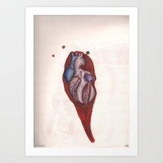 Pinned Art Print