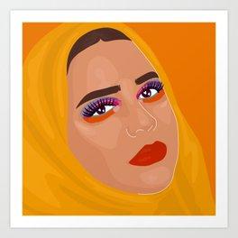@beautybyhala_ Art Print