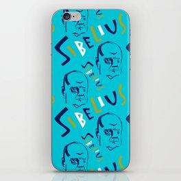 Jean Sibelius (3) iPhone Skin