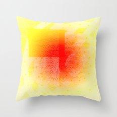 Orange #53 Throw Pillow