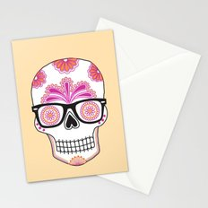 sugar skull #bonethug Stationery Cards