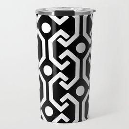 Ethnic Pattern (black) Travel Mug