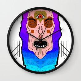 Third Eye Awakening Wall Clock