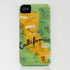 Postcard from California Slim Case iPhone (4, 4s)