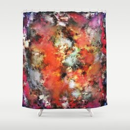 See the flames Shower Curtain