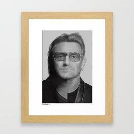 Bono Framed Art Print