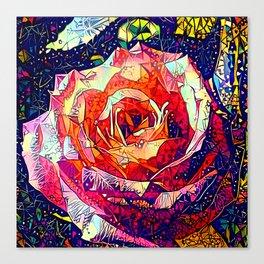 Jeweled Rose Canvas Print