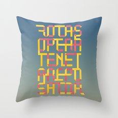 ROTAS SQUARE ORIGAMI Throw Pillow