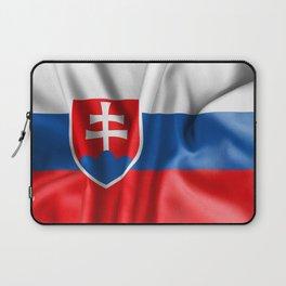 Slovakia Flag Laptop Sleeve