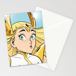 The Mighty She-Ra Stationery Cards