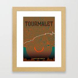 Col de Tourmalet Framed Art Print