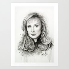 Beverly Crusher Art Print