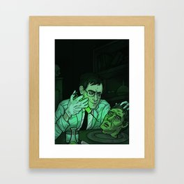 Herbert West, Re-Animator Framed Art Print