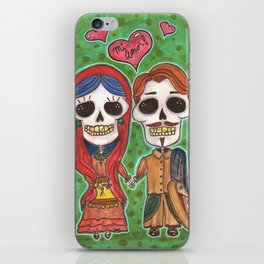 Te Amo Day of the Dead iPhone Skin