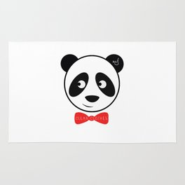 PANDA - CLEAN CLOTHES BY MELVIN JONES Rug