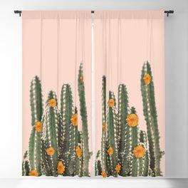 Cactus & Flowers Blackout Curtain