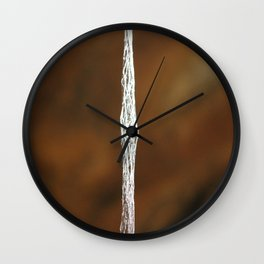 Liana in the Light Wall Clock
