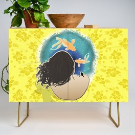 Holding water Credenza