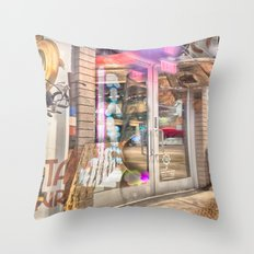 Before The Show Throw Pillow
