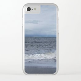 Sea strength Clear iPhone Case