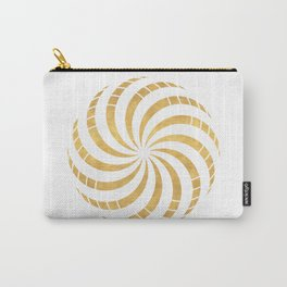 GOLD TORUS circular sacred geometry Carry-All Pouch