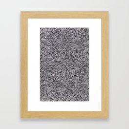 Raw Pattern (two) Framed Art Print