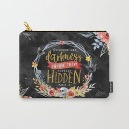 Darkness Hidden Carry-All Pouch