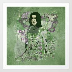 Portrait of a Potions Master Art Print