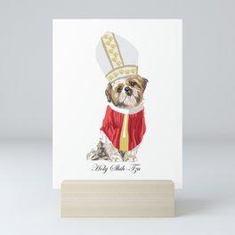 Holy Shih-Tzu Mini Art Print