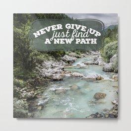a new path Metal Print