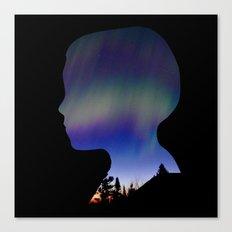 Dreaming Boy Canvas Print