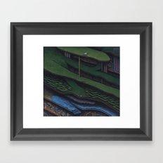The Great Divide Framed Art Print