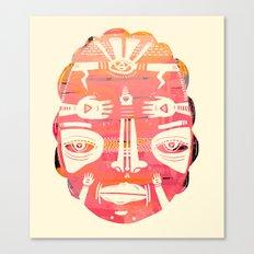 Cloud Face I Canvas Print