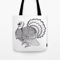 turkey Tote Bags featuring Turkey by Martin Stolpe Margenberg