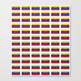 Flag of Venezuela-Venezuela,venezuelan,Venezolano,caracas,maracaibo. Canvas Print