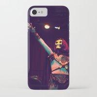 skeletor iPhone & iPod Cases featuring Skeletor Karaoke by Reagan Lam