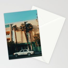 Miracle Mile, Los Angeles, CA Stationery Cards
