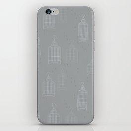 Swaying Cages Dusk iPhone Skin