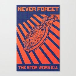 Remember Skyhook Canvas Print