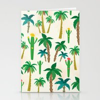 palm Stationery Cards featuring palm by Ceren Aksu Dikenci