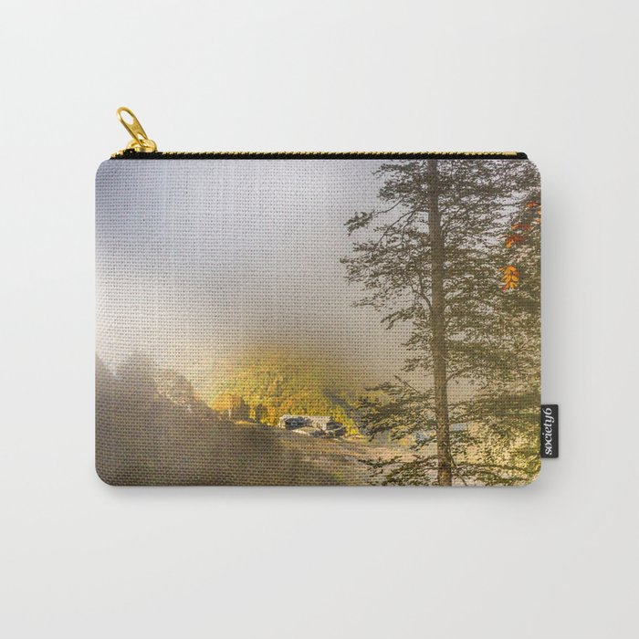 Mountains in the mist Carry-All Pouch