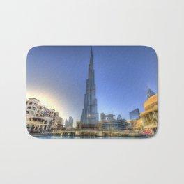 Burj Khalifa Dubai Bath Mat