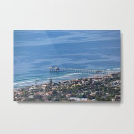 Above the Pier Metal Print
