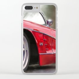 59 Vette Clear iPhone Case